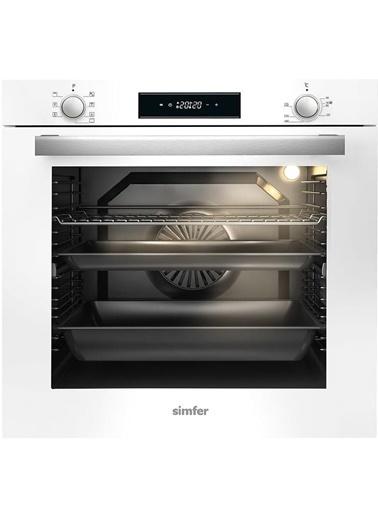 Simfer Simfer XXL Ankastre Set 5 Gözlü Ocak (7382 fırın 3706 Ocak) Renkli